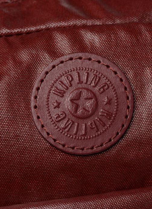 Handtaschen Kipling Candy rot ansicht von links
