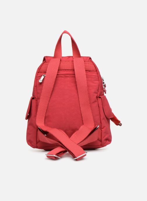 Mochilas Kipling City Pack Mini Rojo vista de frente