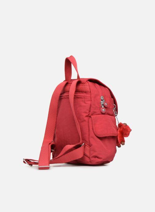 Mochilas Kipling City Pack Mini Rojo vista lateral derecha