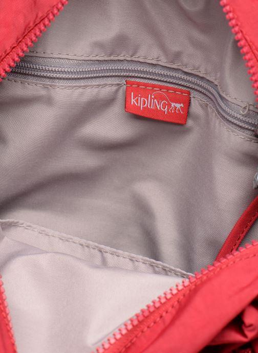 Mochilas Kipling City Pack Mini Rojo vistra trasera