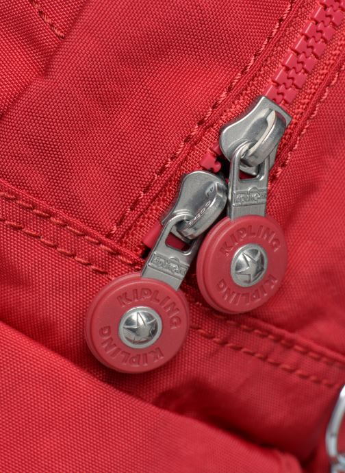 Mochilas Kipling City Pack Mini Rojo vista lateral izquierda