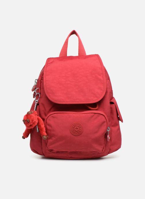 Mochilas Kipling City Pack Mini Rojo vista de detalle / par