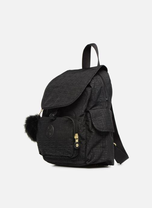 Rucksäcke kipling City Pack Mini schwarz schuhe getragen