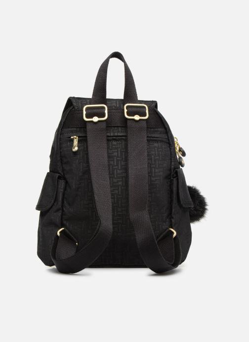 Rucksäcke kipling City Pack Mini schwarz ansicht von vorne