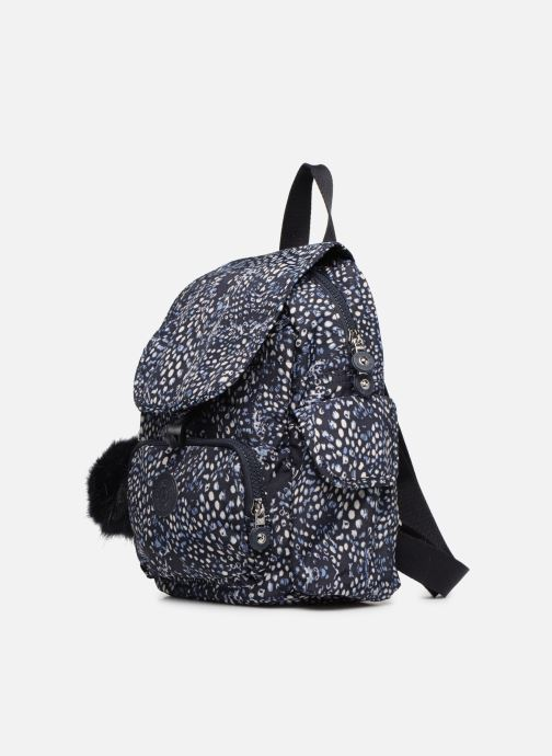 Mochilas Kipling City Pack Mini Azul vista del modelo