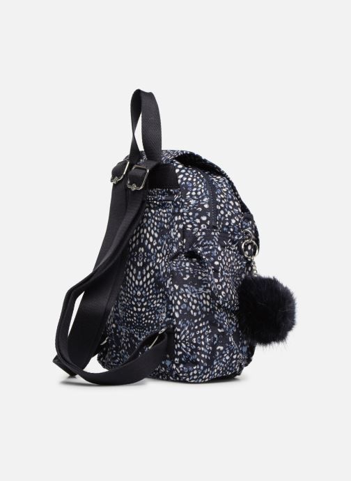 Mochilas Kipling City Pack Mini Azul vista lateral derecha