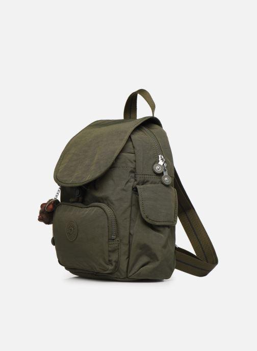 Rucksäcke kipling City Pack Mini grün schuhe getragen