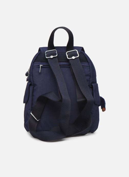 Sacs à dos kipling City Pack Mini Bleu vue face
