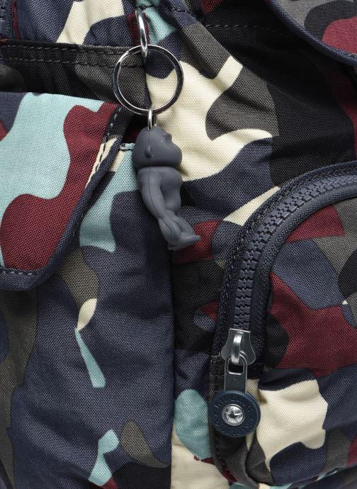 Rucksäcke Kipling City Pack Mini mehrfarbig ansicht von links