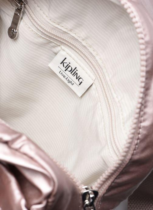 Rucksäcke Kipling City Pack Mini rosa ansicht von hinten