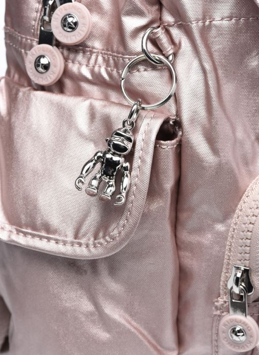 Rucksäcke Kipling City Pack Mini rosa ansicht von links