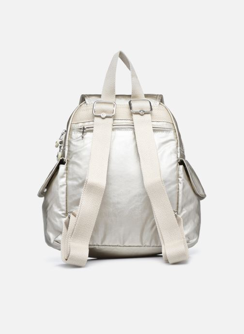 Sacs à dos Kipling City Pack Mini Blanc vue face