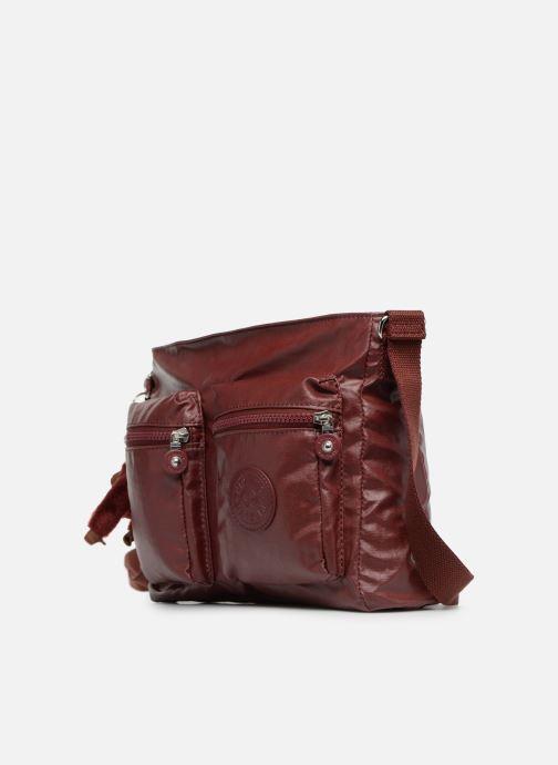 Handväskor kipling Coralie Vinröd bild av skorna på