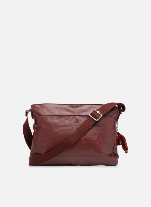 Handtaschen Kipling Coralie weinrot ansicht von vorne