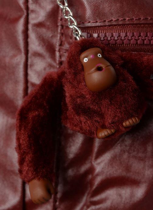 Handtaschen Kipling Coralie weinrot ansicht von links