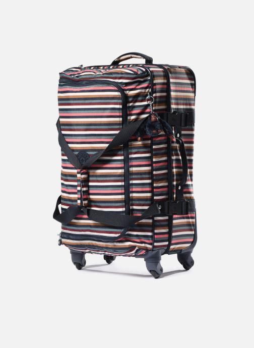 Reisegepäck kipling Cyrah M mehrfarbig schuhe getragen