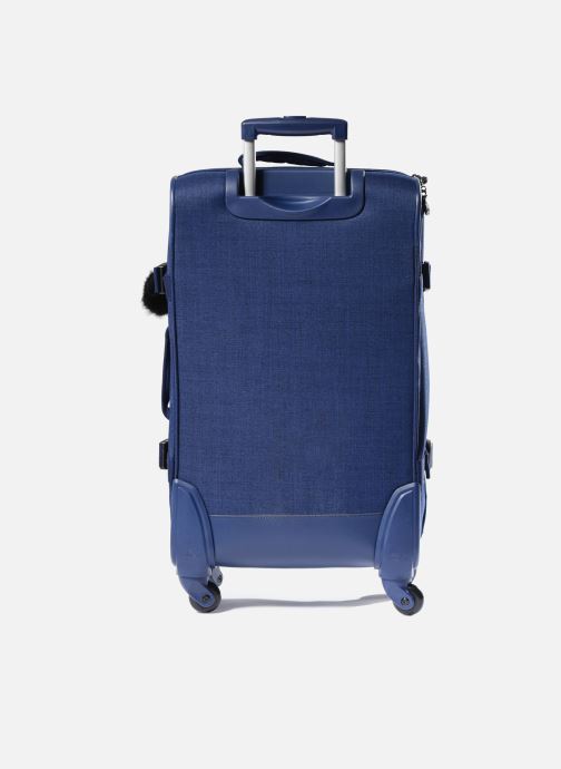 Reisegepäck kipling Cyrah M blau ansicht von vorne