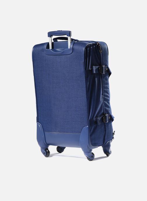 Reisegepäck kipling Cyrah M blau ansicht von rechts