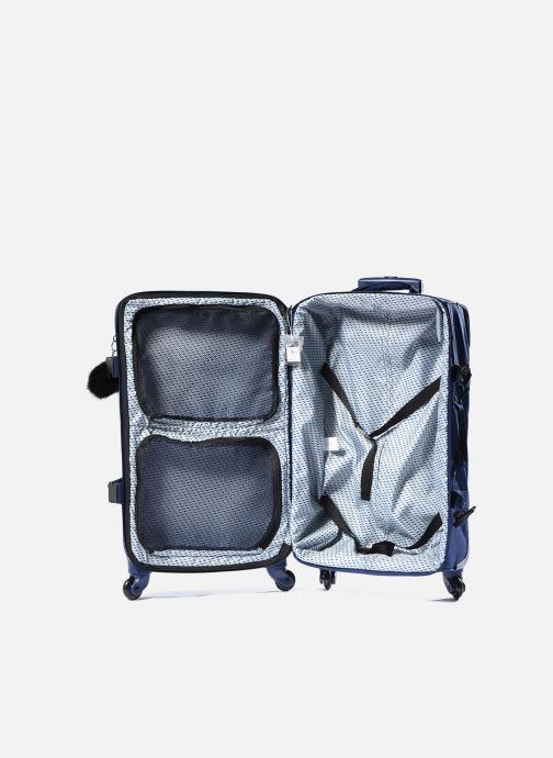 Reisegepäck kipling Cyrah M blau ansicht von hinten