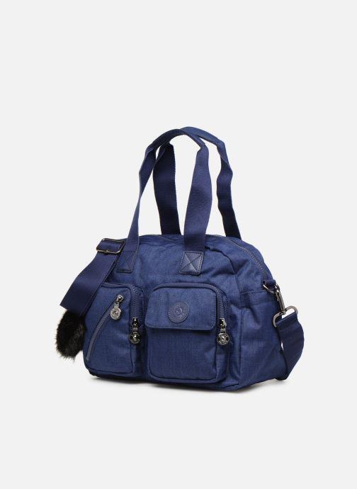 Handtaschen kipling Defea Up blau schuhe getragen
