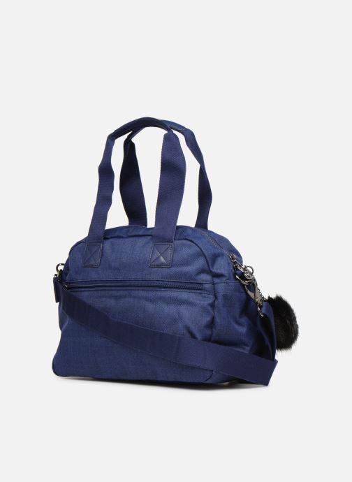 Handtaschen kipling Defea Up blau ansicht von rechts
