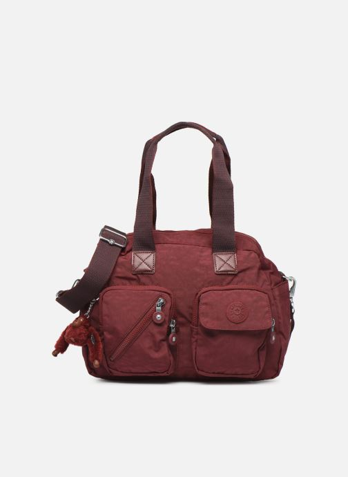Handtassen kipling Defea Up Bordeaux detail