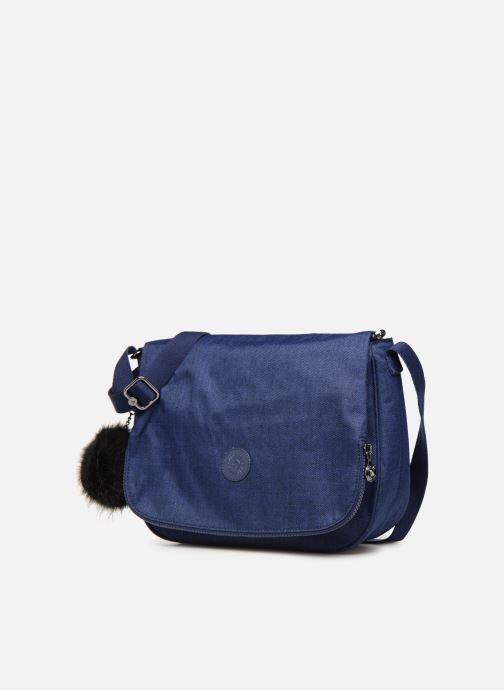 Handväskor kipling Earthbeat M Blå bild av skorna på