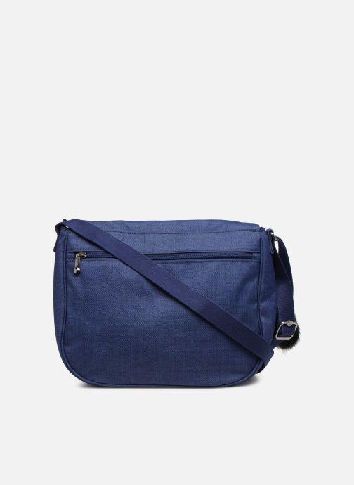 Handtaschen kipling Earthbeat M blau ansicht von vorne
