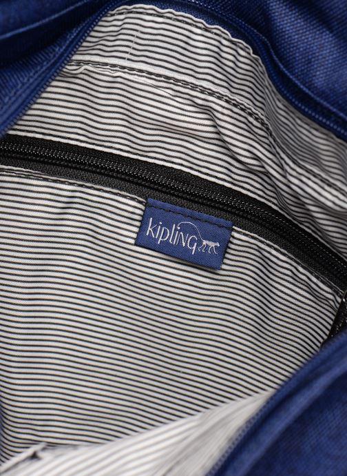 Handväskor kipling Earthbeat M Blå bild från baksidan