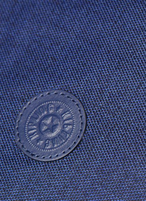 Handtaschen kipling Earthbeat M blau ansicht von links