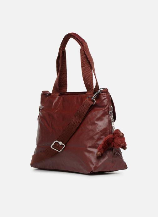 Handtaschen kipling Enora weinrot ansicht von rechts