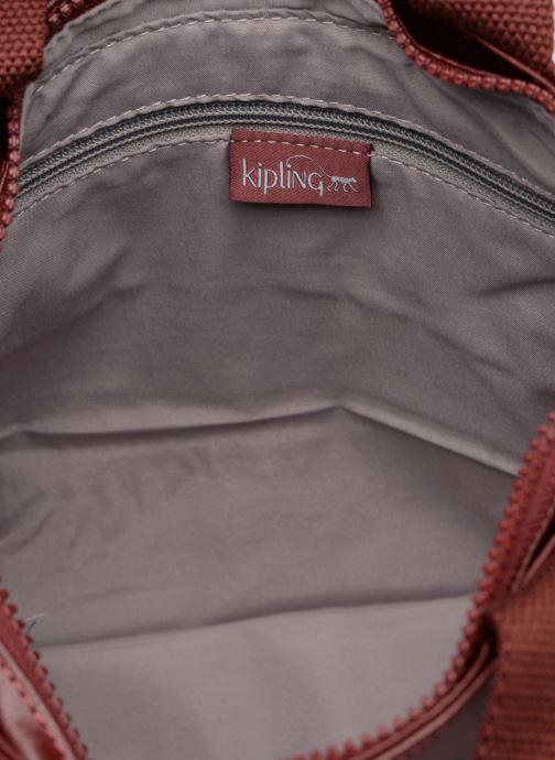 Handtassen kipling Enora Bordeaux achterkant