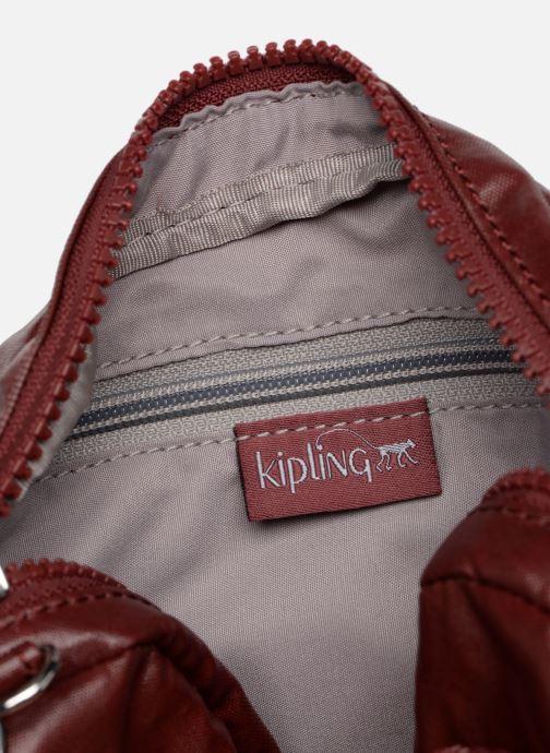 Sacs à main Kipling Hubei Bordeaux vue derrière