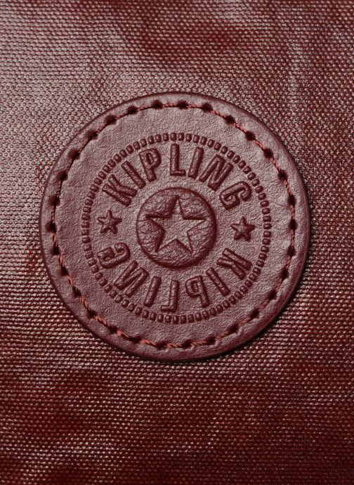 Sacs à main Kipling Hubei Bordeaux vue gauche