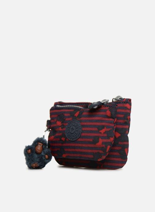 Petite Maroquinerie kipling Syrine Bleu vue portées chaussures