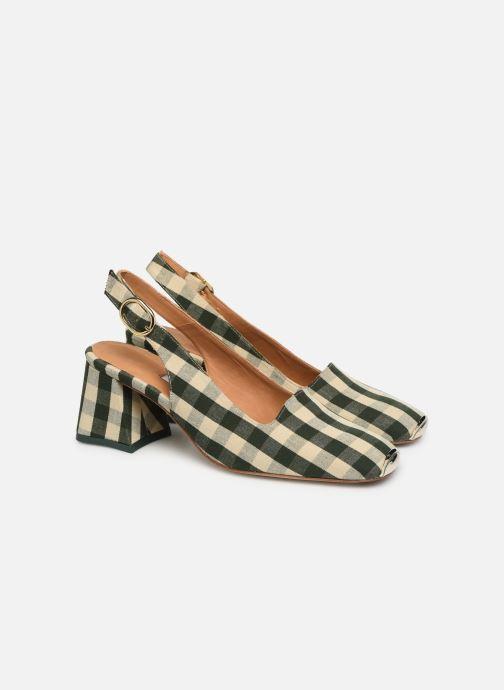 High heels Miista CANAR Green 3/4 view