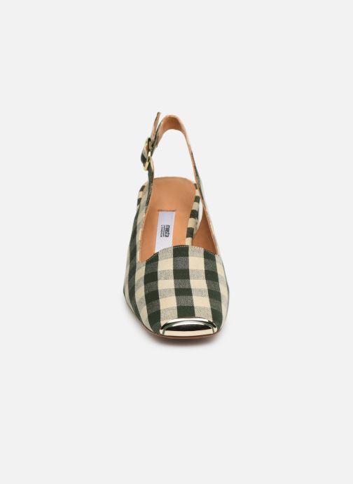 Escarpins Miista CANAR Vert vue portées chaussures