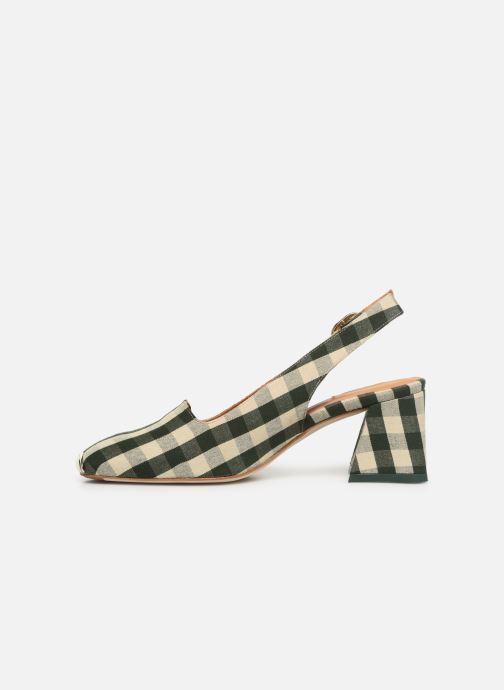 High heels Miista CANAR Green front view