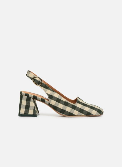 High heels Miista CANAR Green back view