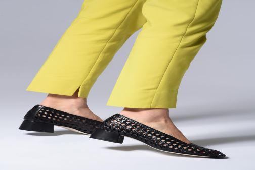 Zapatos de tacón Miista Taissa Rojo vista de abajo