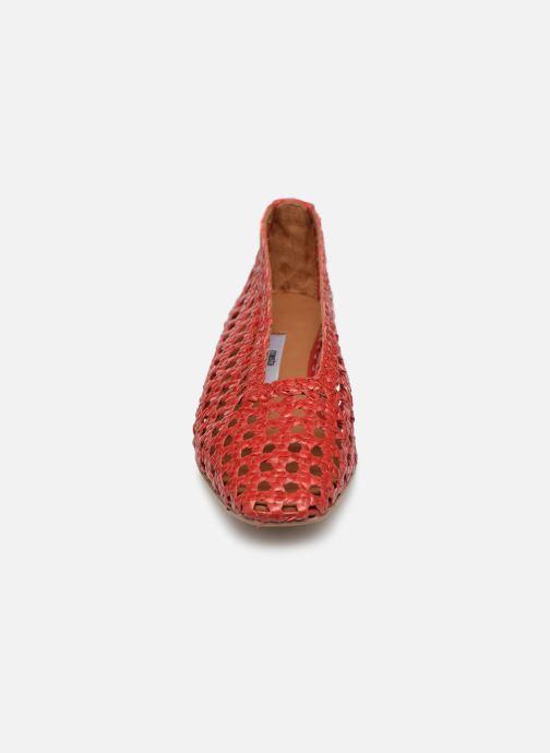 Escarpins Miista Taissa Rouge vue portées chaussures