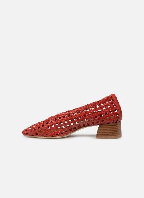 Zapatos de tacón Miista TAISSA Rojo vista de frente