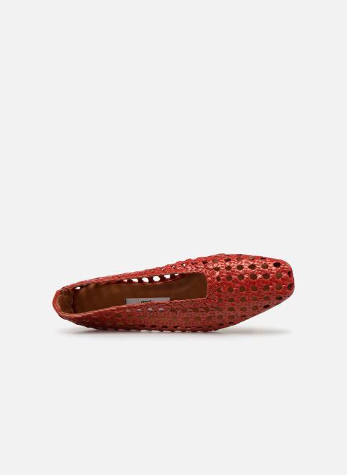 Zapatos de tacón Miista TAISSA Rojo vista lateral izquierda