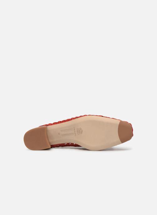Zapatos de tacón Miista Taissa Rojo vista de arriba