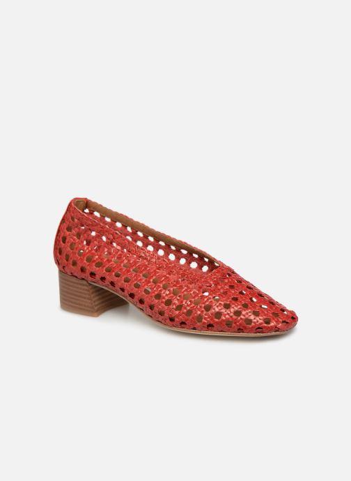 Høje hæle Miista Taissa Rød detaljeret billede af skoene