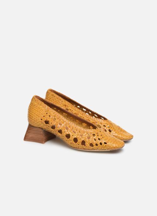 High heels Miista MARINA Yellow 3/4 view