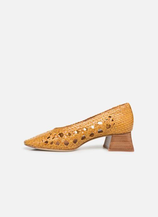 High heels Miista MARINA Yellow front view