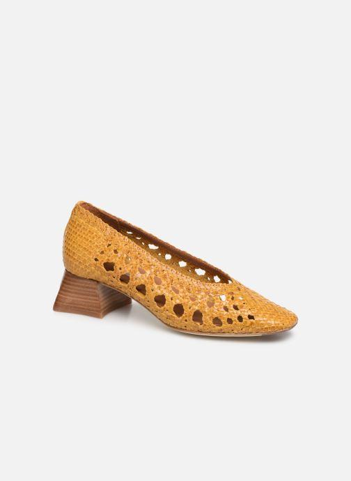 High heels Miista MARINA Yellow detailed view/ Pair view