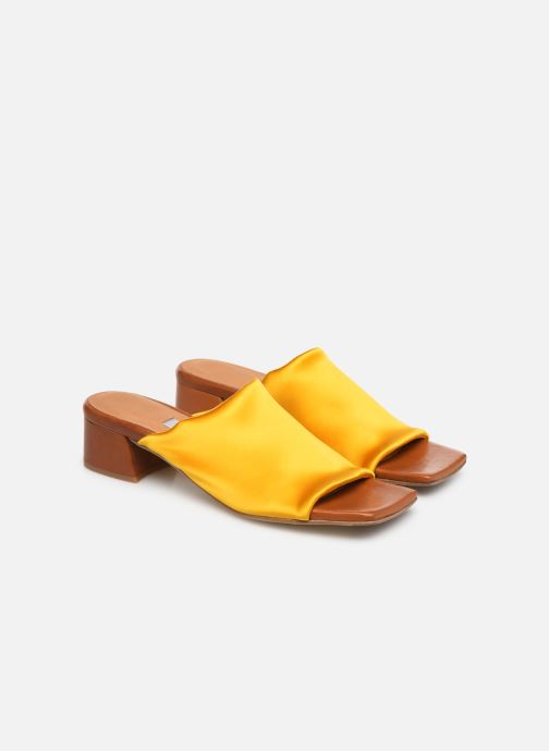 Mules & clogs Miista CATERINA Yellow 3/4 view