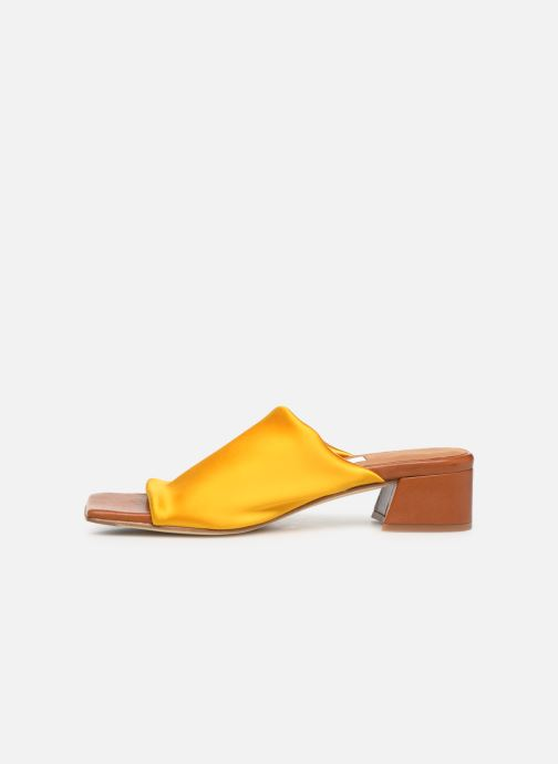 Mules & clogs Miista CATERINA Yellow front view